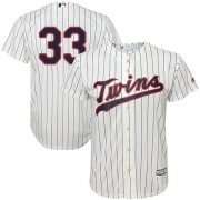 Wholesale Cheap Twins #33 Justin Morneau Cream Stitched Youth MLB Jersey