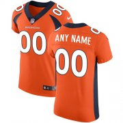 Wholesale Cheap Nike Denver Broncos Customized Orange Team Color Stitched Vapor Untouchable Elite Men's NFL Jersey