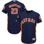 Wholesale Cheap Astros #23 Michael Brantley Navy Blue Flexbase Authentic Collection 2019 World Series Bound Stitched MLB Jersey