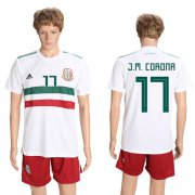 Wholesale Cheap Mexico #17 J.M.Corona Away Soccer Country Jersey