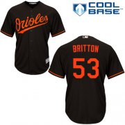 Wholesale Cheap Orioles #53 Zach Britton Black Cool Base Stitched Youth MLB Jersey