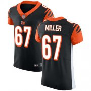 Wholesale Cheap Nike Bengals #67 John Miller Black Team Color Men's Stitched NFL Vapor Untouchable Elite Jersey