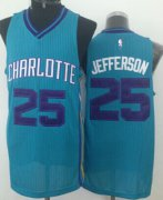 Wholesale Cheap Charlotte Hornets #25 Al Jefferson Green Swingman Jersey