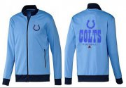 Wholesale Cheap NFL Indianapolis Colts Victory Jacket Light Blue