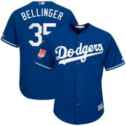 Wholesale Cheap Dodgers #35 Cody Bellinger Royal 2019 Spring Training Cool Base Stitched MLB Jersey