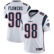 Wholesale Cheap Nike Patriots #98 Trey Flowers White Youth Stitched NFL Vapor Untouchable Limited Jersey