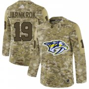 Wholesale Cheap Adidas Predators #19 Calle Jarnkrok Camo Authentic Stitched NHL Jersey