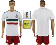 Wholesale Cheap Mexico Blank Away Soccer Country Jersey