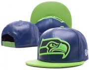Wholesale Cheap NFL Seahawks Seahawks Team Logo Navy Adjustable Hat G56
