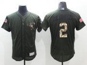 Wholesale Blue Jays #2 Troy Tulowitzki Green Flexbase Authentic Collection Salute to Service Stitched Baseball Jersey