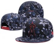 Wholesale Cheap Los Angeles Angels of Anaheim Snapback Ajustable Cap Hat 2