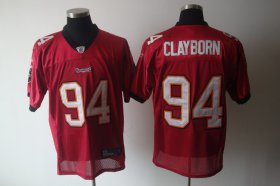 Wholesale Cheap Buccaneers #94 Adrian Clayborn Red Stitched NFL Jersey
