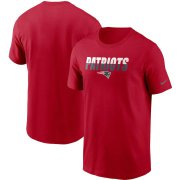 Wholesale Cheap New England Patriots Nike Split T-Shirt Red