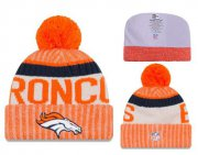 Wholesale Cheap NFL Denver Broncos Logo Stitched Knit Beanies 001