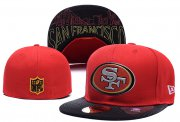 Wholesale Cheap San Francisco 49ers fitted hats03