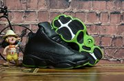 Wholesale Cheap Kids' Air Jordan 13 Altitude Shoes Black/Green