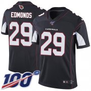 Wholesale Cheap Nike Cardinals #29 Chase Edmonds Black Alternate Men's Stitched NFL 100th Season Vapor Limited Jersey