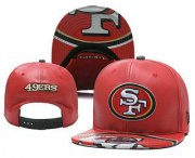 Wholesale Cheap San Francisco 49ers Snapback Ajustable Cap Hat YD