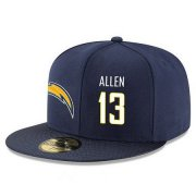 Wholesale Cheap San Diego Chargers #13 Keenan Allen Snapback Cap NFL Player Navy Blue with White Number Stitched Hat