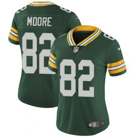 Wholesale Cheap Nike Packers #82 J\'Mon Moore Green Team Color Women\'s Stitched NFL Vapor Untouchable Limited Jersey
