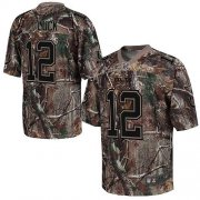 Wholesale Cheap Nike Colts #12 Andrew Luck Camo Men's Stitched NFL Realtree Elite Jersey