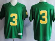 Wholesale Cheap Notre Dame Fighting Irish #3 Joe Montana 2013 Green Jersey