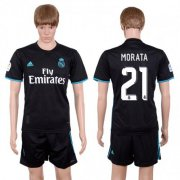 Wholesale Cheap Real Madrid #21 Morata Away Soccer Club Jersey