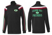 Wholesale Cheap NFL Green Bay Packers Heart Jacket Black