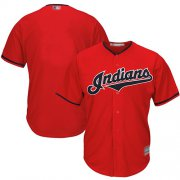 Wholesale Cheap Indians Blank Red New Cool Base Stitched MLB Jersey
