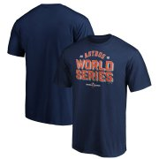 Wholesale Cheap Houston Astros Majestic 2019 World Series Bound Can of Corn T-Shirt Navy