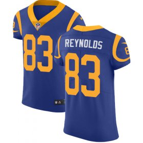 Wholesale Cheap Nike Rams #83 Josh Reynolds Royal Blue Alternate Men\'s Stitched NFL Vapor Untouchable Elite Jersey