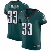 Wholesale Cheap Nike Eagles #33 Josh Adams Midnight Green Team Color Men's Stitched NFL Vapor Untouchable Elite Jersey