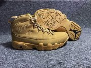 Wholesale Cheap Air Jordan 9 Retro Shoes Tan/Black