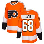 Wholesale Cheap Adidas Flyers #68 Jaromir Jagr Orange Home Authentic Stitched NHL Jersey