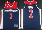 Wholesale Cheap Washington Wizards #2 John Wall Revolution 30 Swingman 2014 New Navy Blue Jersey