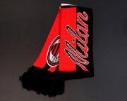 Wholesale Cheap AC Milan Soccer Football Scarf Red