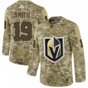 Wholesale Cheap Adidas Golden Knights #19 Reilly Smith Camo Authentic Stitched NHL Jersey