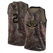 Wholesale Cheap Pelicans #2 Lonzo Ball Camo Basketball Swingman Realtree Collection Jersey