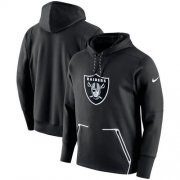 Wholesale Cheap Men's Las Vegas Raiders Nike Black Champ Drive Vapor Speed Performance Pullover Hoodie