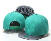 Wholesale Cheap San Jose Sharks Snapback Ajustable Cap Hat GS 2