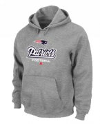 Wholesale Cheap Minnesota Vikings Critical Victory Pullover Hoodie Grey