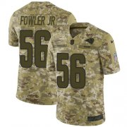 Wholesale Cheap Nike Rams #56 Dante Fowler Jr Camo Men's Stitched NFL Limited 2018 Salute To Service Jersey