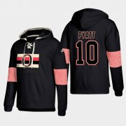 Wholesale Cheap Ottawa Senators #10 Tom Pyatt Black adidas Lace-Up Pullover Hoodie