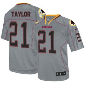 Wholesale Cheap Nike Redskins #21 Sean Taylor Lights Out Grey Men\'s Stitched NFL Elite Jersey