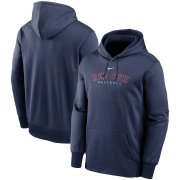Wholesale Cheap Boston Red Sox Nike Outline Wordmark Fleece Performance Pullover Hoodie Navy