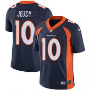 Wholesale Cheap Nike Broncos #10 Jerry Jeudy Navy Blue Alternate Men's Stitched NFL Vapor Untouchable Limited Jersey