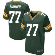 Wholesale Cheap Nike Packers #77 Billy Turner Green Team Color Men's Stitched NFL Elite Jersey