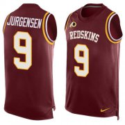 Wholesale Cheap Nike Redskins #9 Sonny Jurgensen Burgundy Red Team Color Men's Stitched NFL Limited Tank Top Jersey