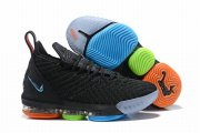 Wholesale Cheap Nike Lebron James 16 Air Cushion Shoes Color Stitching