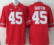 Wholesale Cheap Ohio State Buckeyes #45 Archie Griffin 2014 Red Limited Jersey